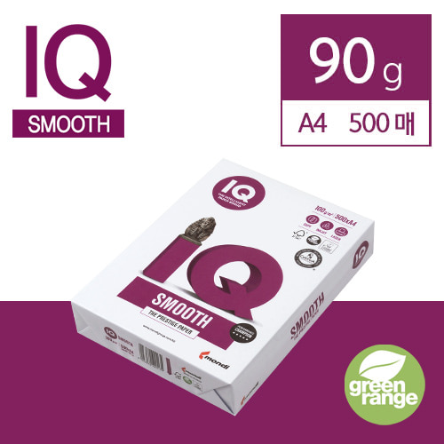 IQ Smooth 90g A4 500매